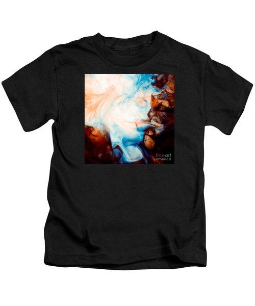 Ink Swirls 001 Kids T-Shirt