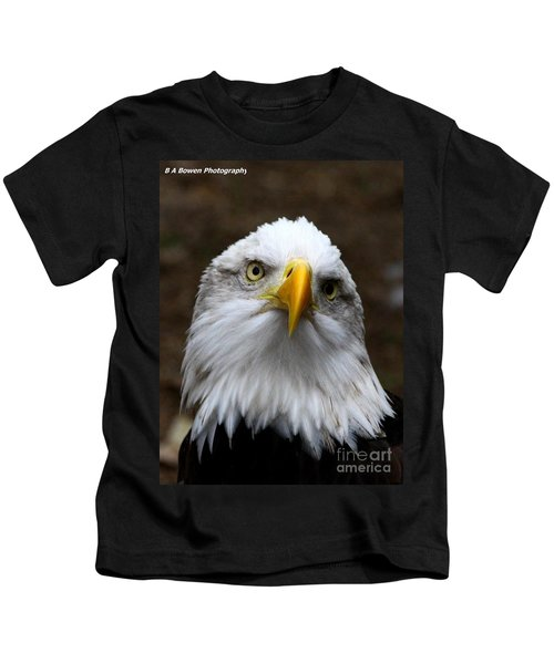 Inquisitive Eagle Kids T-Shirt
