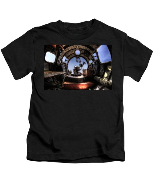 Inside The Flying Fortress Kids T-Shirt