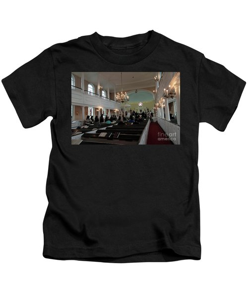 Inside The S. Georges Church Episcopal Anglican Kids T-Shirt