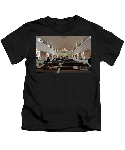 Inside The St. Georges Episcopal Anglican Church Kids T-Shirt
