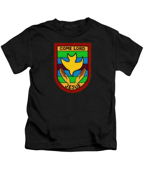 Inspirational - Come Lord Jesus Kids T-Shirt by Glenn McCarthy Art and Photography