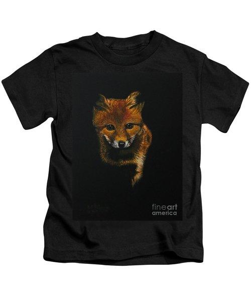 Into The Light......fox Kit Kids T-Shirt