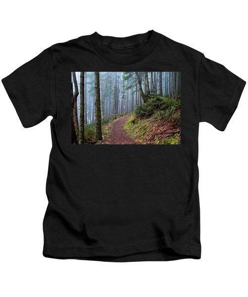 Into The Misty Forest Kids T-Shirt