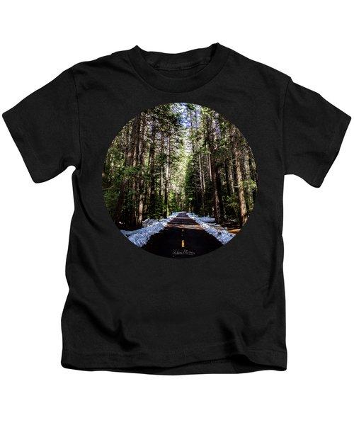Into The Woods Kids T-Shirt by Adam Morsa