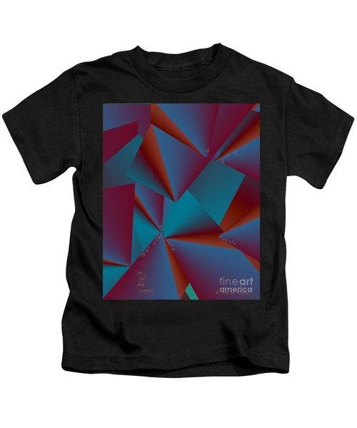 Inw_20a6146 Free Fall Drop To Crystal Kids T-Shirt