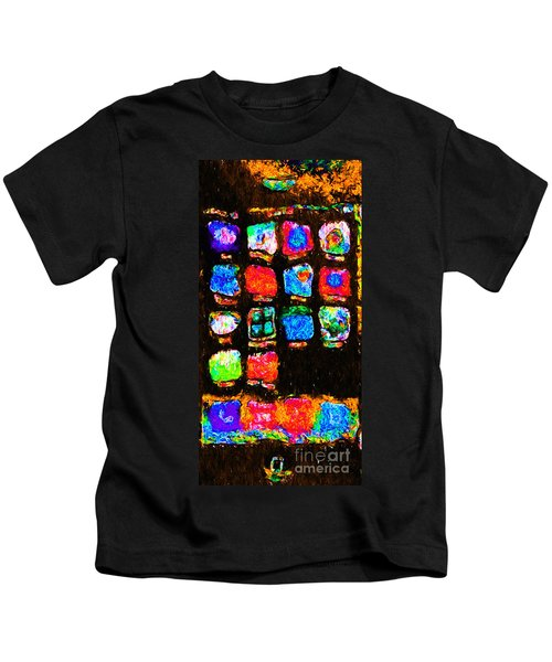 Iphone In Abstract Kids T-Shirt