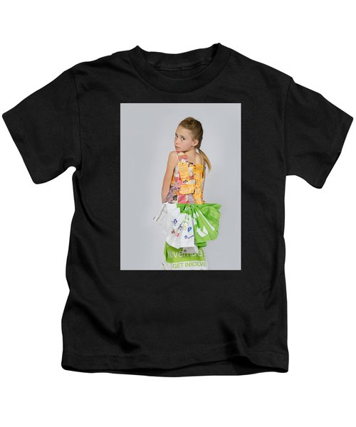 Irene In Tea Bags Shirt And Banners Skirt Kids T-Shirt