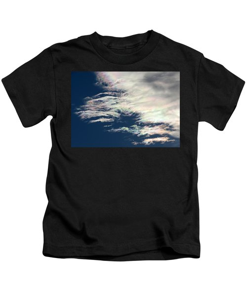 Iridescent Clouds 3 Kids T-Shirt