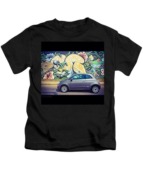 Is It Safe To Drive Mr. #fiat Into The Kids T-Shirt