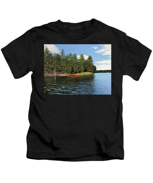 Island Retreat Kids T-Shirt