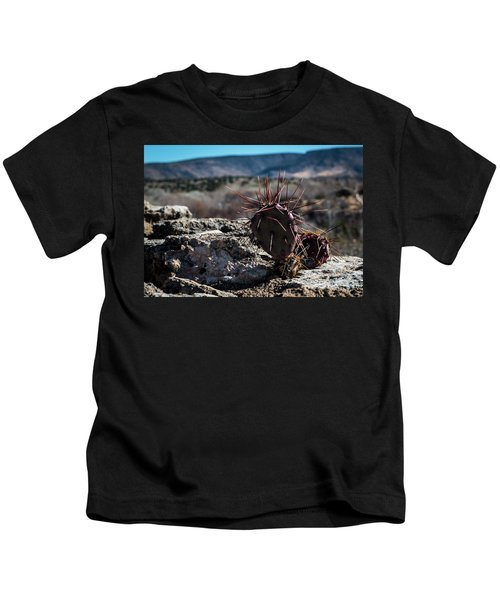 Itty Bitty Prickly Pear Cactus Kids T-Shirt