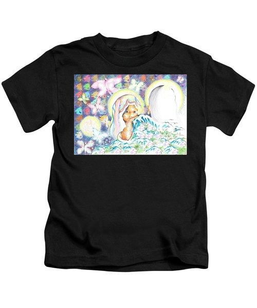 Itzpapalotl Y La Joven Virgin Kids T-Shirt