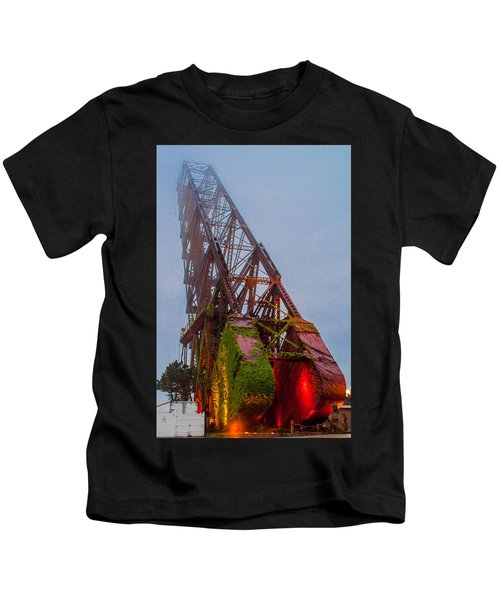 Jack Knife Bridge Kids T-Shirt