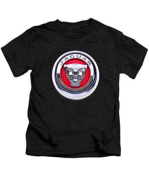 Jaguar Emblem Kids T-Shirt
