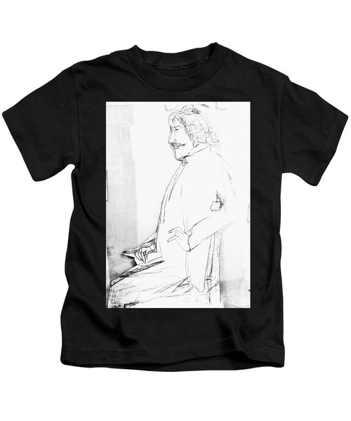 James Whistler's Portrait Kids T-Shirt