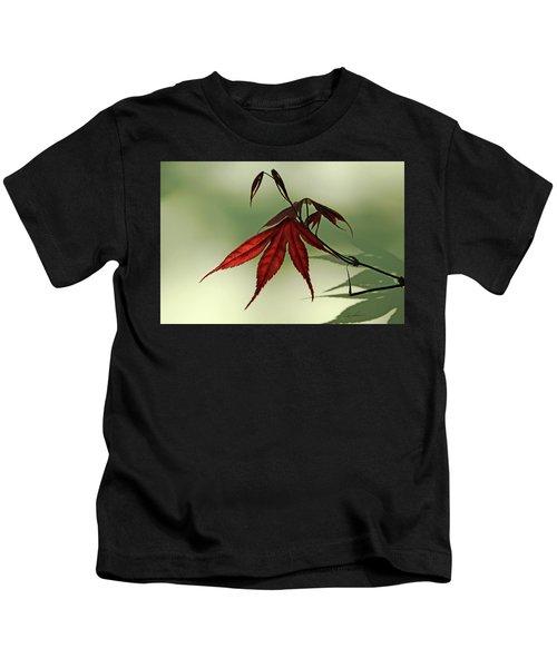 Japanese Maple Leaf Kids T-Shirt