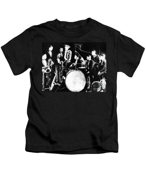 Jazz Musicians, C1925 Kids T-Shirt
