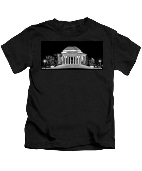 Jefferson Memorial Lonely Night Kids T-Shirt