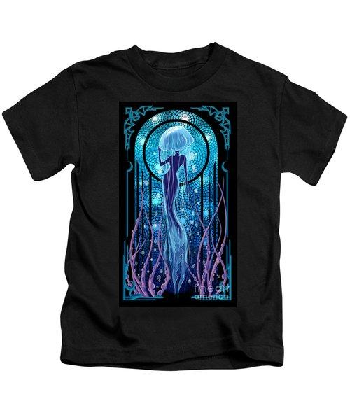 Jellyfish Mermaid Kids T-Shirt