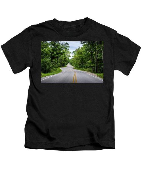 Jens Jensen's Winding Road Kids T-Shirt