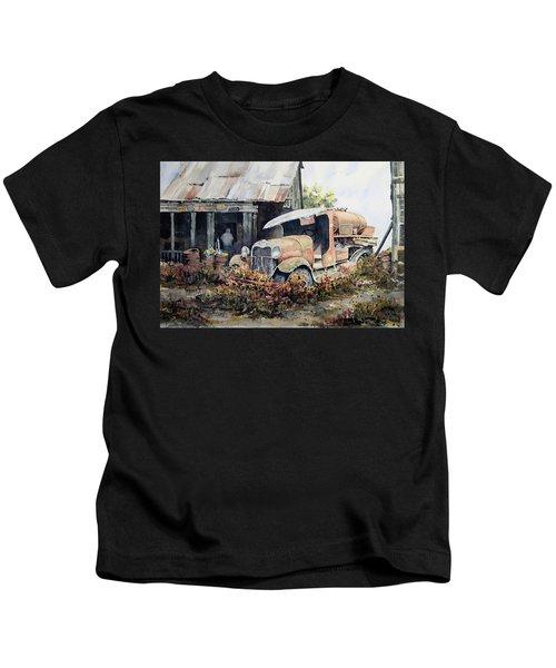 Jeromes Tank Truck Kids T-Shirt