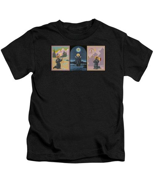 Jesuit Triptych-st Peter Faber-st Ignatius-st Francis Xavier Kids T-Shirt