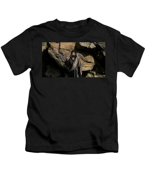 Jesus Christ- Be Blessed And Prosper Kids T-Shirt