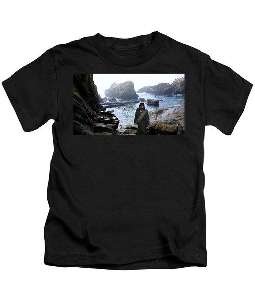 Jesus Christ- Be Not Dismayed For I Am Your God Kids T-Shirt