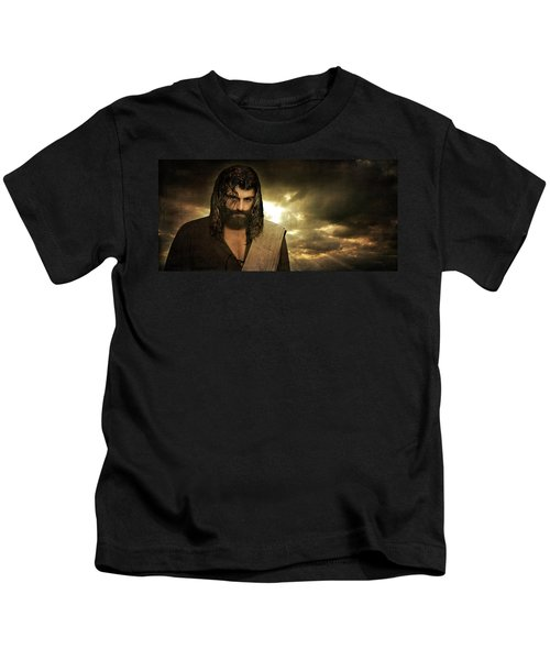 Jesus Christ- Will You Hear Me Shout Come Up Kids T-Shirt