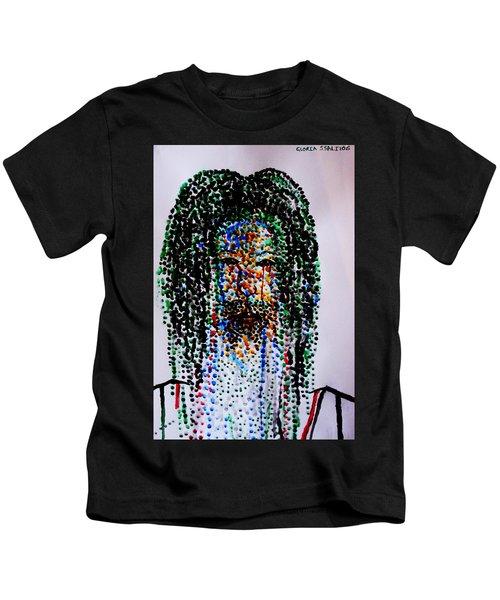 Jesus Lion Of Judah Kids T-Shirt