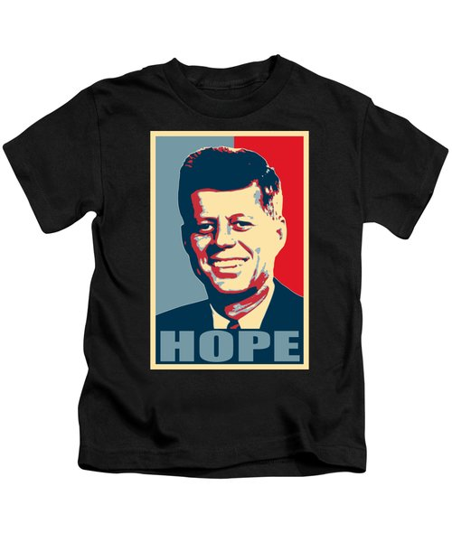 John F Kennedy Hope Poster Art Kids T-Shirt
