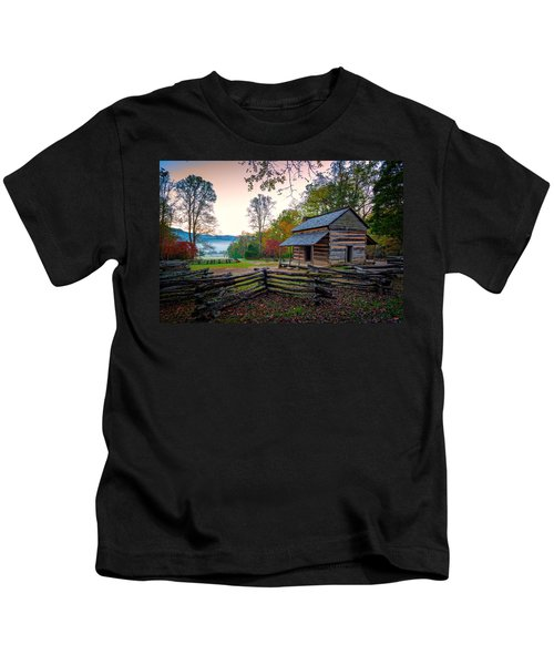 John Oliver Place In Cades Cove Kids T-Shirt