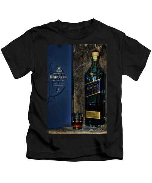 Johnny Walker Blue Label Whisky  Kids T-Shirt