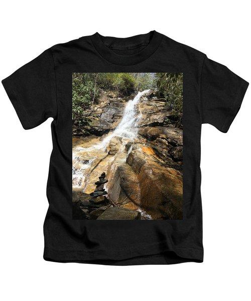 Jones Gap Falls And Monument Kids T-Shirt