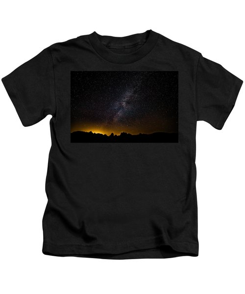Joshua Tree's Fiery Sky Kids T-Shirt
