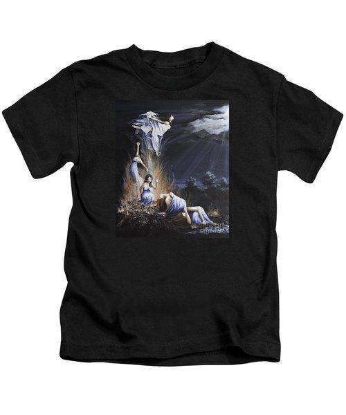 Journey Into Self Female Kids T-Shirt