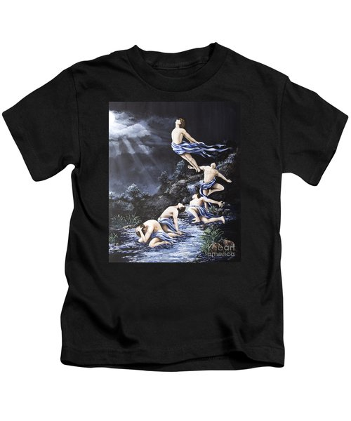 Journey Into Self Male Kids T-Shirt