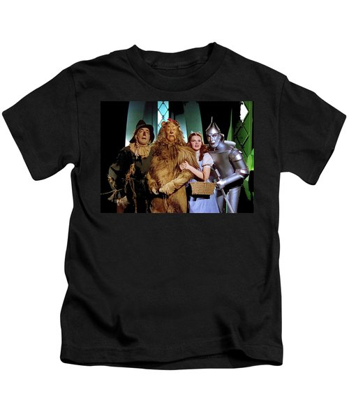 Judy Garland And Pals The Wizard Of Oz 1939-2016 Kids T-Shirt