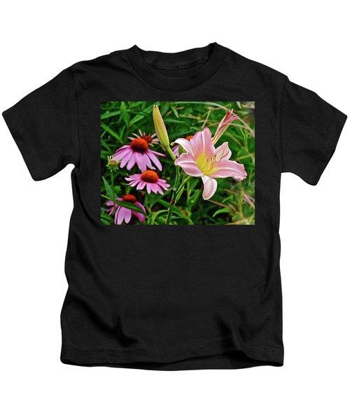 July Lily #10 Kids T-Shirt