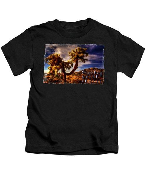 Jumping Cholla Cactus Kids T-Shirt