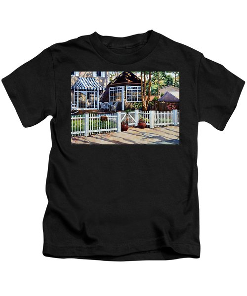 Just Beyond The Pickets Kids T-Shirt