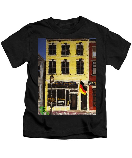Kaffee Vonsolln Kids T-Shirt