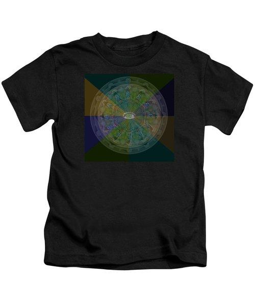 Kaleidoscope Eye Kids T-Shirt