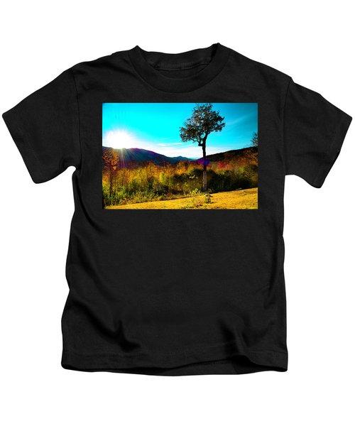 Kancamagus Sunset Kids T-Shirt