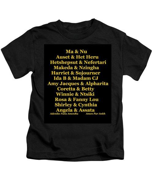 Kandaki Ma Kids T-Shirt
