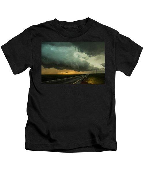 Kansas Storm Chase Bust Day 004 Kids T-Shirt