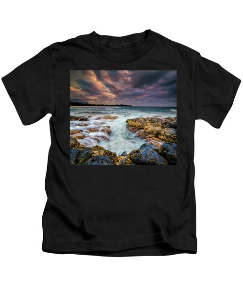 Kauai Ocean Rush Kids T-Shirt