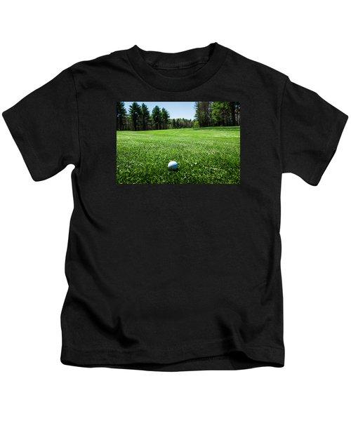 Keep Your Eye On The Ball Kids T-Shirt