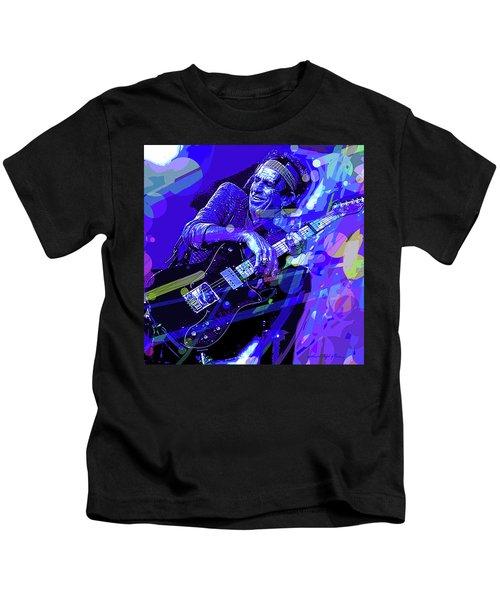 Keith Richards Blue Kids T-Shirt